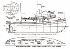 Peterson Tug Boat model airplane plan