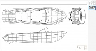 RIVA AQUARAMA SPECIAL model airplane plan
