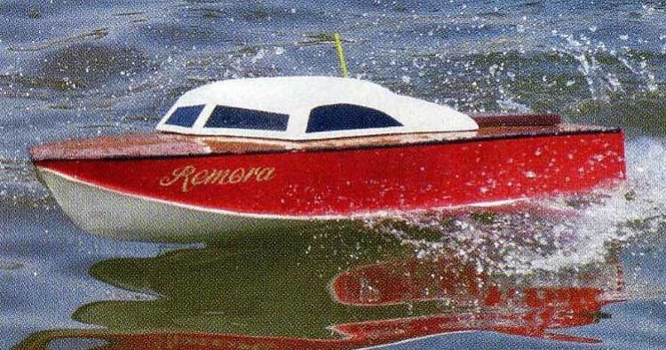 Vic Smeed Remora model airplane plan