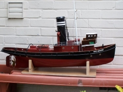 Steam Tug Archer model airplane plan