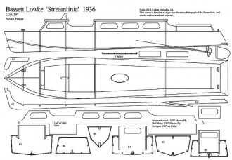 STREAM model airplane plan