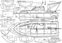SVITAVA model airplane plan