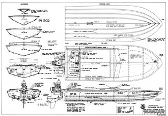 Schiada 20 SS model airplane plan