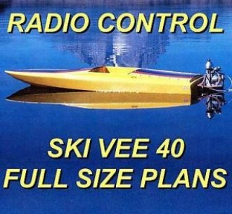 Ski Vee 40 model airplane plan