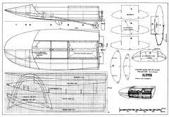 Slipper model airplane plan