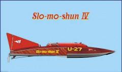 Slo Mo Shun lV model airplane plan