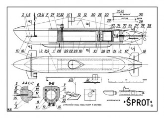 Sprot model airplane plan