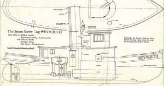 WEYMOUTH model airplane plan