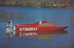 Sting Ray model airplane plan