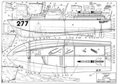Sup 277 model airplane plan