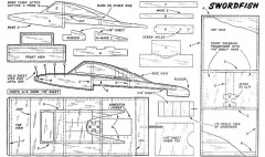 Swordfish model airplane plan
