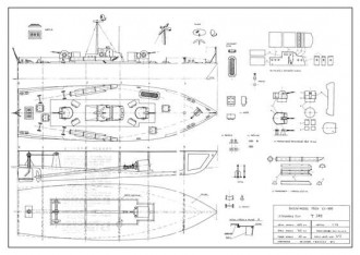 T 342 model airplane plan