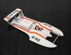 U-95 model airplane plan