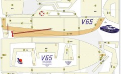 V 65 model airplane plan