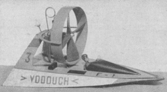 Vodouch model airplane plan
