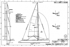 YACHT K 8500 model airplane plan