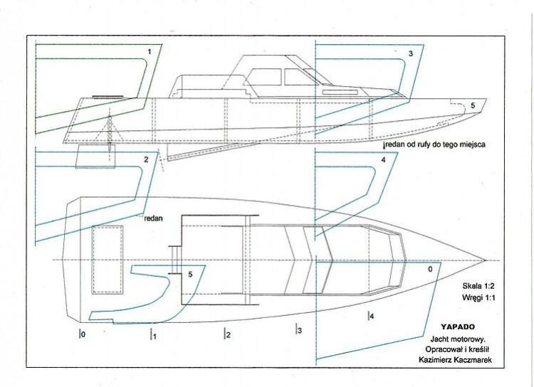 YAPADO model airplane plan