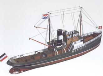 HERMES model airplane plan