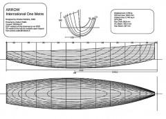 arrow2003nov27 model airplane plan