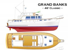 GRAND BANKS 46 CLASSIC model airplane plan