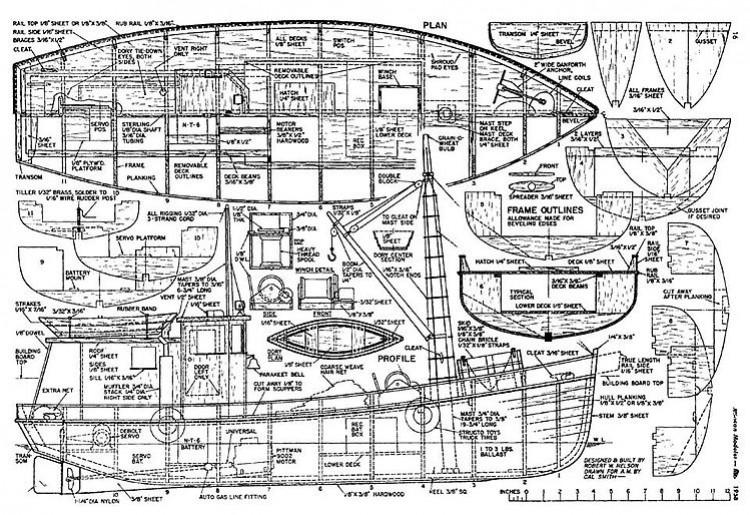 Kingfisher model airplane plan
