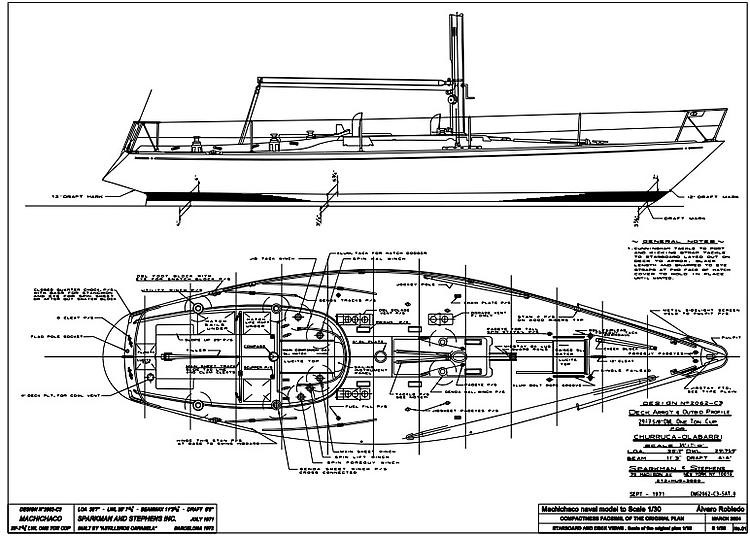 MACHICHACO model airplane plan