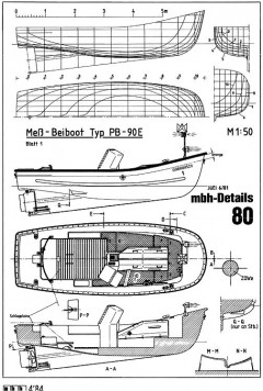 BEIBOOT TYP 90 E model airplane plan