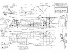 RIVA ARISTON model airplane plan