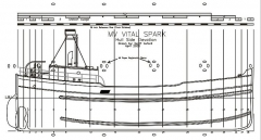 Vital Spark model airplane plan