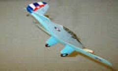 CW-19R Cuba 1942 model airplane plan