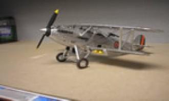 Hawker Hind  1 model airplane plan