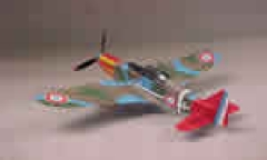 MS-406 model airplane plan