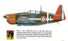 MS-406 in Indo China model airplane plan