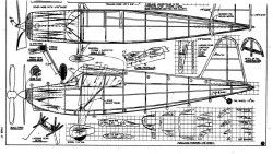 125 2 model airplane plan