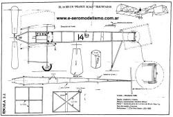 14 Bis 1 model airplane plan