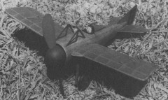 1913 Deperdussin model airplane plan