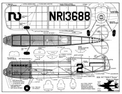 1938 Wittmans Bonzo Modernistic Models model airplane plan