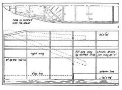 24k p3 model airplane plan