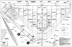 363 49in model airplane plan