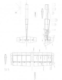 3D Model 1 model airplane plan