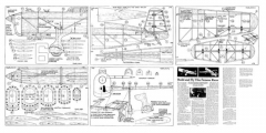 460 model airplane plan