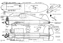 49r bill winter model airplane plan
