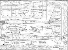 7 11-FF model airplane plan