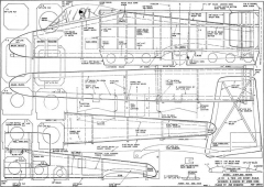 A-10 model airplane plan