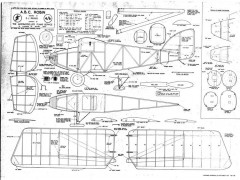 ABC Robin updated model airplane plan