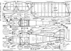 ABC Robin MAN 56 model airplane plan
