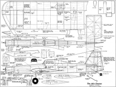 AG1 Duster Stunt model airplane plan