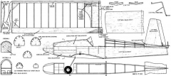 AMA PT RC model airplane plan