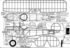 AVRO534C model airplane plan