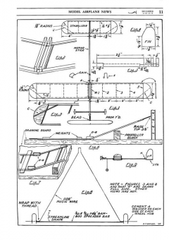 A Fine Flier model airplane plan